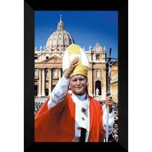 Pope John Paul II Bridges 27x40 FRAMED Movie Poster