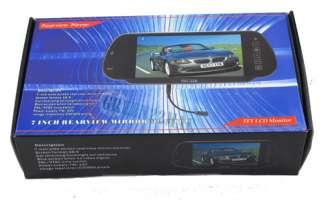 TFT LCD Mirror Screen backup rearview car Monitor US