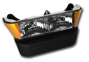 Clear Lens Light Kit Club Car Precdent GAS 04 2008.5 Golf Cart