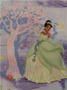 New Tiana Disney Princess Fabric BTY Frog Cartoon Movie