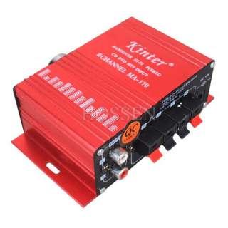 CH output 100w+100w Audio Speaker Stereo Amplifier AMP 4~16ohm Twin