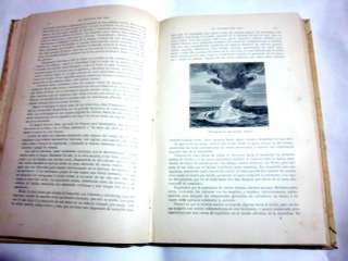 DEL MAR SEA MYSTERIES BEAUTIFUL COVER & ENGRAVINGS XRARE SPANISH 1891