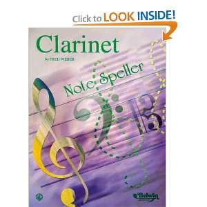 Note Spellers (9780769224350) Weber, Fred Books