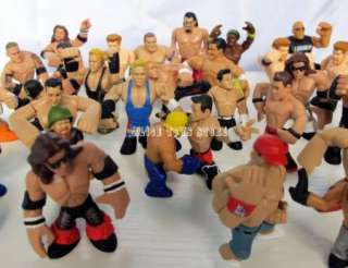 NEW WWE WWF Wrestling RUMBLERS action figure figurine Random 10pcs