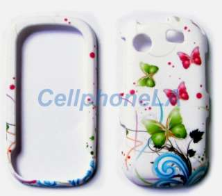 Samsung Messenger Touch R630 Green Butterfly Case Cover