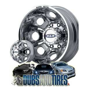16 Inch 16x6 MOTO METAL wheels MO953 DUALLY Polished FRONT