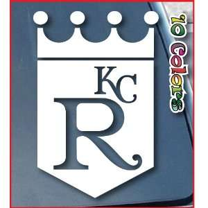 Kansas City Royals Car Window Vinyl Decal Sticker 11 Tall