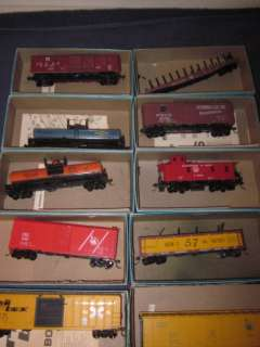 10 VINTAGE ATHEARN & OTHER HO SCALE FREIGHT CAR KITS