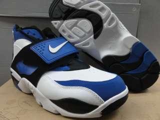 Nike Air Diamond Turf White Blue Black Sneaker Men 10.5