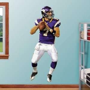 Christian Ponder Minnesota Vikings NFL Fathead REAL.BIG Wall Graphics