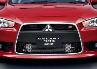 RALLIART Front Grill Emblem MITSUBISHI Lancer Evolution