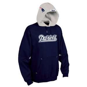 New England Patriots Nfl Helmet Hooded Fleece Pullover