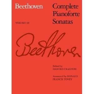Sir Donald Francis Tovey, Harold Craxton, Ludwig van Beethoven: Books