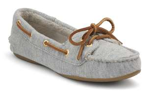 Sperry Top Siders Womens Skiff Boat Shoe Heather Grey 9246315 New In