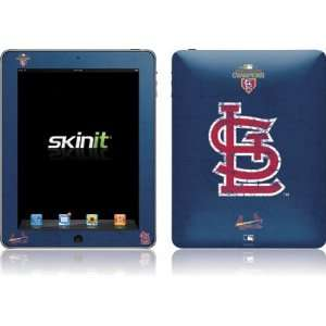 St. Louis Cardinals   World Series 2011 Distressed skin for Apple iPad