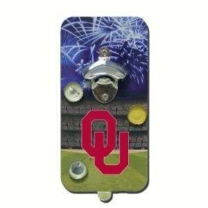 Oklahoma Sooners Click N Drink Magnetic Bottle Opener