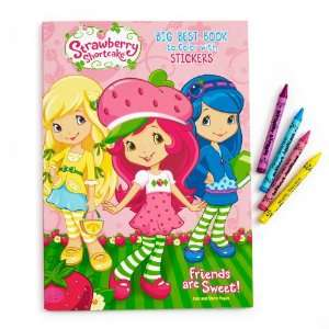 Party By Strawberry Shortcake Big Best Coloring Book: Everything Else