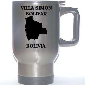 Bolivia   VILLA SIMON BOLIVAR Stainless Steel Mug