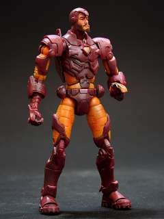 2004 TOY BIZ MARVEL LEGENDS SERIES 8 IRON MAN MODERN