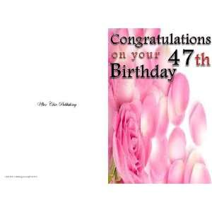 Personalised Birthday Greeting Cards Office Products