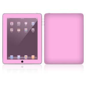 Simply Pink Design Skin Decal Sticker for Apple iPad