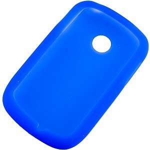 Silicone Skin Cover for LG 800G, Blue: Electronics