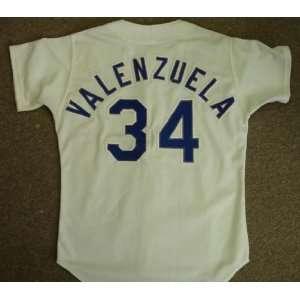 Frenando Valenzuela 1982 Los Angeles Dodgers Game Used