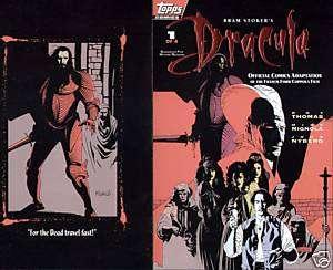MIKE MIGNOLA ART DRACULA #1 ORIGINAL COMIC COVER PRODUCTION PROOF 1992