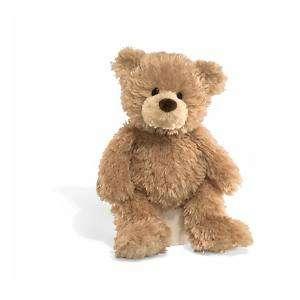 GUND bear STITCHIE 14 cute shaggy plush stuffed animal #319929 NWT
