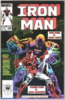 Iron Man Comic Book #200, Marvel Comics 1985 NEAR MINT