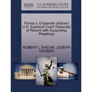 Pleadings (9781270546368) ROBERT L SHEVIN, JOSEPH GASSEN Books