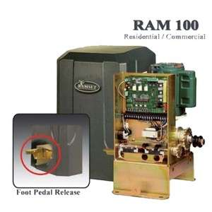 Ram 100 Slide Gate Operater *NEW* (Residential/Commercial)