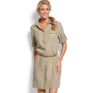 Tommy Bahama Two Palms Safari Dress   International Fit