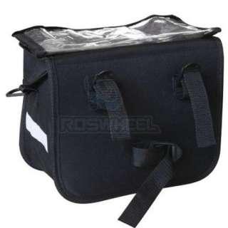 New Cycling Bicycle handlebar bag front basket 6.5L