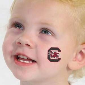 Gamecocks 4 Pack Team Logo Temporary Tattoos: Sports & Outdoors