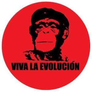 VIVA LA EVOLUCION Pinback Button 1.25 pin / badge Planet of the Apes
