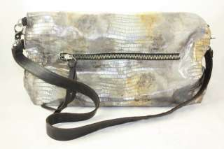 Foley + Corinna Mid City Tote Silver/Gold Metallic Authentic Designer