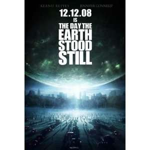 THE DAY THE EARTH STOOD STILL ADVANCE Movie Poster