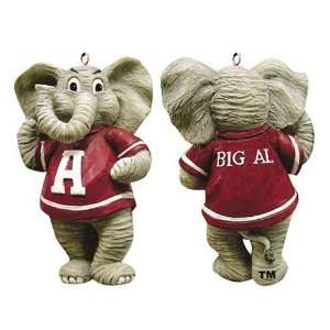 Alabama Crimson Tide Mascot Resin Ornament Sports