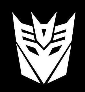 Decepticons Transformers Symbol Logo Car Vinyl Window Decal Sticker