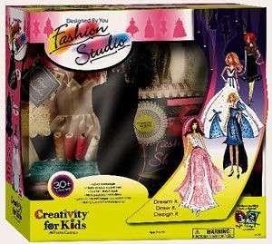 NEW Creativity For Kids Fashion Design Studio Craft Kit