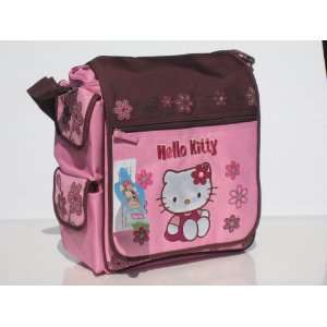 Sanrio Hello Kitty Pink & Brown Diaper Bag Toys & Games
