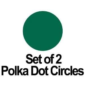 Circles Polka Dots Vinyl Wall Graphic Decals Stickers