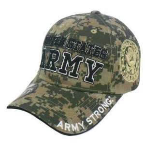 STRONG LICENSED SEAL MILITARY DIGI CAMO HAT CAP: Sports & Outdoors