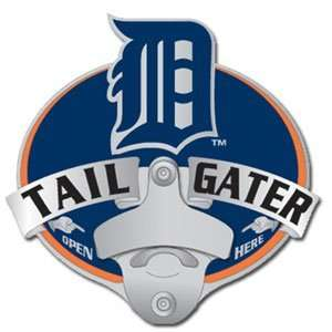 MLB Detroit Tigers Trailer Hitch Cover   Tailgater