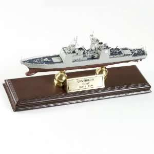 USS Shiloh CG 67 1/700 Quality Desktop Wood Model Ship