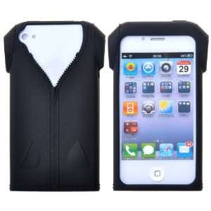 Fashionable Zipper T shirt Design Soft Silicone Case for