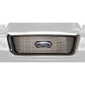 Putco 36106 Virtual Vertical Tubular Grille Insert   Stainless Steel