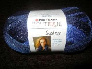 Red Heart Boutique Sashay Fishnet Weave Yarn Rumba