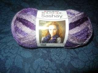 Red Heart Boutique Sashay Fishnet Weave Yarn 1 Skein Boogie
